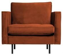 Klasyczny fotel RODEO rdzawy