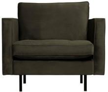 Klasyczny fotel RODEO ciemnozielony