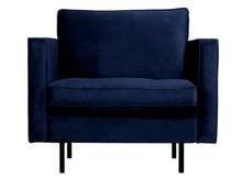 Fotel RODEO - ciemnoniebieski