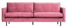 Sofa RODEO 2,5 classic - różowy