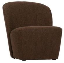 Fotel LOFTY - brązowy