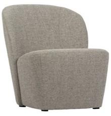 Fotel LOFTY - jasnoszary