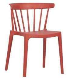 Krzesło BLISS - koralowy