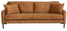 Sofa 3-osobowa HOUDA - karmel
