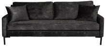 Sofa 3-Osobowa HOUDA - antracyt