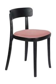Krzesło BRANDON - czarny/różowy