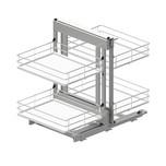 Corner Comfort MAXIMA EVO II 1200 prawy to idealne rozwiązanie do przechowywania w szafkach narożnych i wykorzystanie przestrzeni w trudno dostępnych...