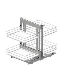 MAXIMA EVO II Corner Comfort 1200 prawy metal/tworzywo chrom/biały - Rejs