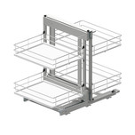 Corner Comfort MAXIMA EVO II 1200 lewy to idealne rozwiązanie do przechowywania w szafkach narożnych i wykorzystanie przestrzeni w trudno dostępnych...