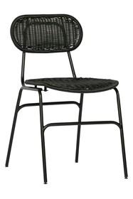 Krzesło BRITT - czarny