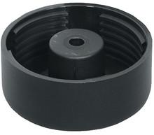 Ślizgacz czarny 2-częściowy 54x19mm tworzywo sztuczne Hafele - Häfele