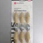 12 sztuk złączy meblowych pojedyńczych regulowanych w kolorze klon do trwałego i solidnego łączenia płyt meblowych.  Występują również w...