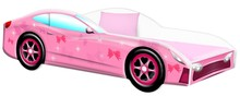 Łóżko CAR PINK