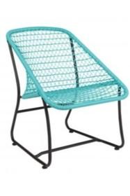 Krzesło VIGO LOUNGE - turkusowy