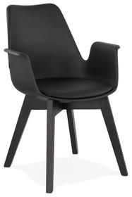 Krzesło ALCAPONE - czarny