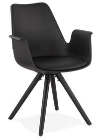 Krzesło SKANOR - czarny