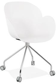 Krzesło obrotowe RULIO - biały