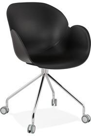 Krzesło obrotowe RULIO - czarny