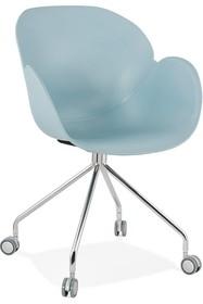 Krzesło obrotowe RULIO - niebieski