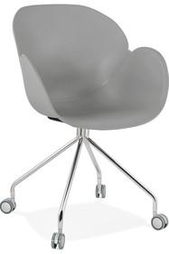 Krzesło obrotowe RULIO - szary