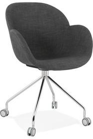 Krzesło obrotowe NESLY - ciemny szary