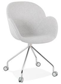 Krzesło obrotowe NESLY - jasny szary