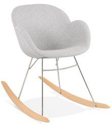Krzesło bujane TOGGLE - jasny szary