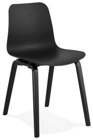 Krzesło MONARK - czarny/czarny