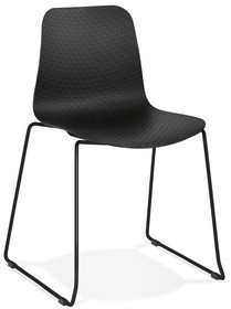 Krzesło BEE - czarny/czarny