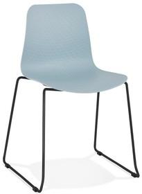 Krzesło BEE - niebieski/czarny