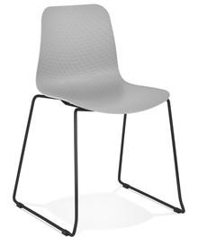 Krzesło BEE - szary/czarny