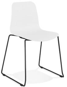 Krzesło BEE - biały/czarny