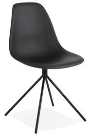 Krzesło DORIS - czarny/czarny