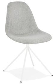 Krzesło FLOPPY - szary/biały