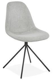 Krzesło FLOPPY - szary/czarny