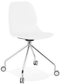 Krzesło obrotowe RAPIDO - biały