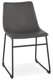 Krzesło BIFF - ciemny szary