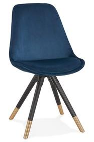 Krzesło MIKADO - granatowy