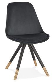 Krzesło MIKADO - czarny