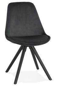 Krzesło JONES - czarny/czarny