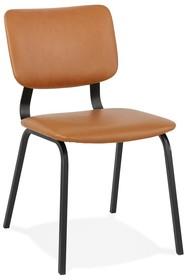Krzesło COATI - brązowy