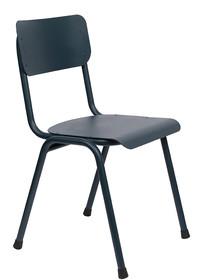 Krzesło BACK TO SCHOOL Outdoor - ciemny szary