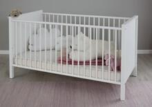 Łóżeczko dziecięce OLE BABY 140x70 - biały mat