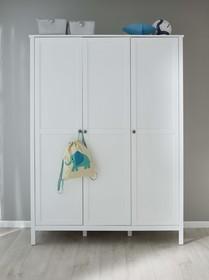 Szafa 3-drzwiowa OLE BABY - biały mat
