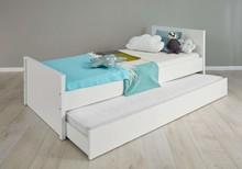 Łóżko młodzieżowe z szufladą do spania OLE BABY