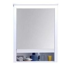 Szafka wisząca z lustrem OLE - biały mat