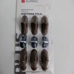 12 sztuk złączy meblowych pojedyńczych regulowanych w kolorze rustikal do trwałego i solidnego łączenia płyt meblowych.  Występują również w...