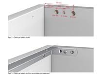 Metalowy Trawers Do Szafek Podblatowych 600/18 mm - Egger