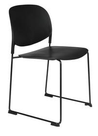 Krzesło STACKS czarne