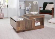 Stolik kawowy z szufladą UNIVERSAL 188 - drewno postarzane